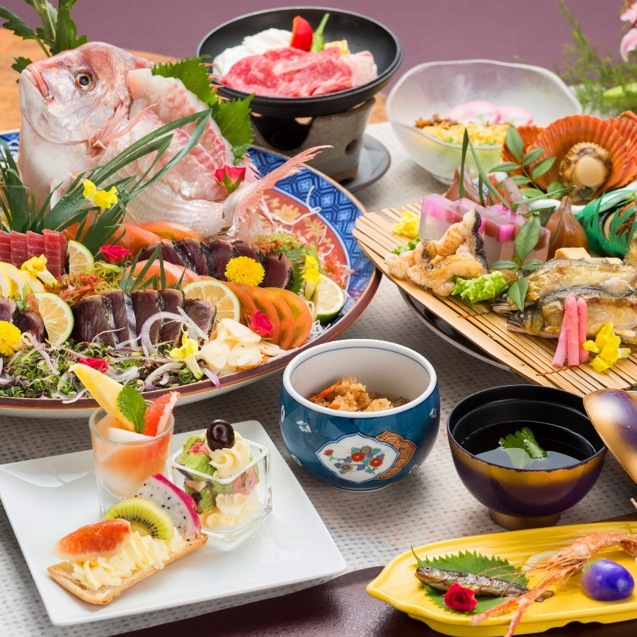 <2食付>土佐『食』満喫!「皿鉢料理」グレードアッププラン