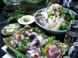 【冬の贅沢鍋】クエ鍋プラン