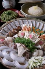 【創作三姫鍋-冬-】菊姫鍋 〜蕪みぞれ鍋〜