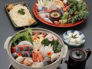【冬の鍋料理】六宝鍋Aプラン