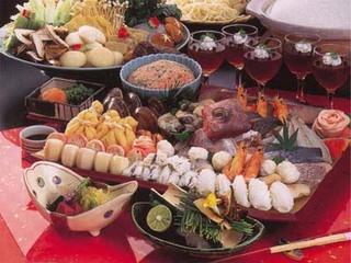 【旬のお造りつき】六宝鍋Bプラン