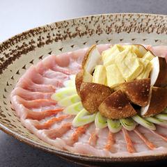 【金目鯛のしゃぶしゃぶプラン】南伊豆の地野菜と伊豆を代表する金目鯛の絶品フルコース♪