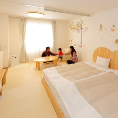 【赤ちゃん歓迎】ハピネスルームプラン◆畳は柔らか天然素材で快適&段差なし!温泉&バイキングも満喫♪