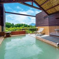 カップルにおすすめ!富士山眺望の露天風呂付き客室に宿泊!プレミアムビュッフェプラン☆アジアンツイン