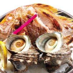 【料理自慢】 ★『海の幸がうまい!』 『魚づくしと宝楽焼』★ 1泊2食