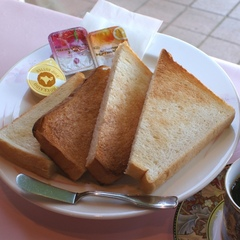 お手軽朝食【トーストセット】付きプラン♪