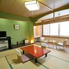 温泉付き客室(和室10畳・専用風呂/トイレあり)