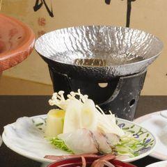 【海鮮しゃぶしゃぶを満喫】鮮度抜群な海の幸をしゃぶしゃぶで味わう《鍋&寿司会席プラン》