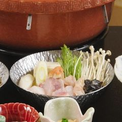 【鮟鱇(あんこう)鍋を満喫】コラーゲンたっぷりで女性に大人気《鍋&寿司会席プラン》