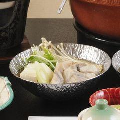 【河豚(ふぐ)鍋を満喫】寒い冬は、鍋を食べてほっかほか《鍋&寿司会席プラン》