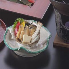 上生寿司・鮑・ノドグロ・蟹グルメプラン♪アワビのバター焼付!