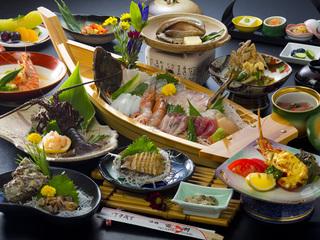 【お好みをチョイス】別々に選べ2倍美味しい!松阪牛orあわび2個