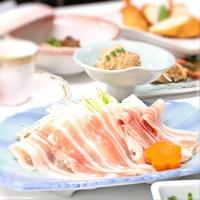 【かごんまのおもてなしプラン】●黒豚しゃぶしゃぶ付き和洋会席1泊2食!●鹿児島焼酎を1杯サービス♪