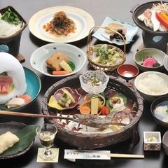 【料亭蔵】露天風呂付き特室ご奉仕プラン☆関白会席☆1泊2食