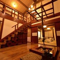 *弐の蔵(メゾネットタイプ/和室12.5畳+10畳+囲炉裏)
