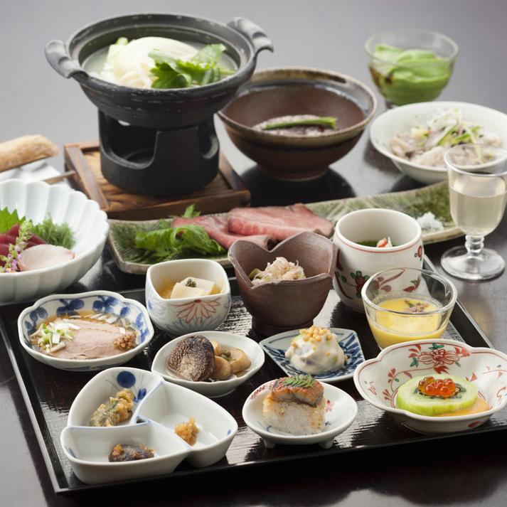 【基本プラン2食付】特徴的2種の源泉と地元素材料理を堪能