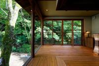 離れ紫葉「翠嶺」二つのお風呂を備えた東屋付き一棟貸し