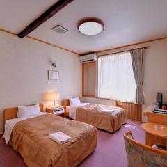 【本館】ベッドのお部屋|洋室ツインルーム