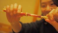 大満足!東伊豆沖で獲れた高足ガニ。まるごと1杯蒸したてアツアツをどうぞ♪期間限定プラン
