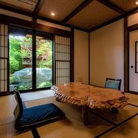 【別邸1階 隠居の間】半露天風呂付き・和室10畳+6畳