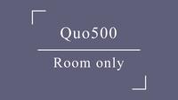 QUOカード500プラン□素泊り□