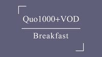 《QUOカード1000+VOD見放題》プラン■朝食付■