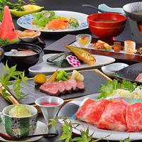 【お料理ランクUP】◆メイン料理が尾花沢牛のしゃぶしゃぶにグレードアップ!