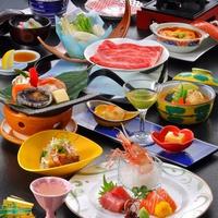 【ふくしまプライド。】爽快コース彩とりどり海の幸のお造りと豪華アワビ逸品料理も楽しめるお得なコース