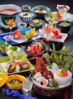 【特選料理】★八幡屋夏まつり★プールに縁日!泳&食&飲!満載!今宵は豪華に♪【盛もりコース】