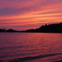 和朝食付き 海は目の前 『和風コテージ』に泊まる