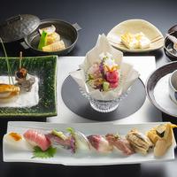 【春夏旅セール】ご夫婦・カップルにおすすめ!1泊2食付きプラン 雅庭 「本日のおまかせ贅沢鮨コース」