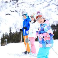 【冬季限定/2食付】スキー場目の前!朝から晩までたっぷり遊べるお得な特典付★