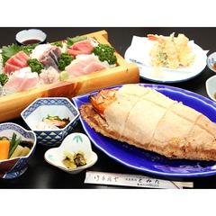 この価格で!?稲取産金目鯛が食べれる!?【とみた謹製◆金目鯛の塩釜焼きプラン】