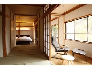 和洋室(11畳+ツインベッドルーム+広縁)さくら