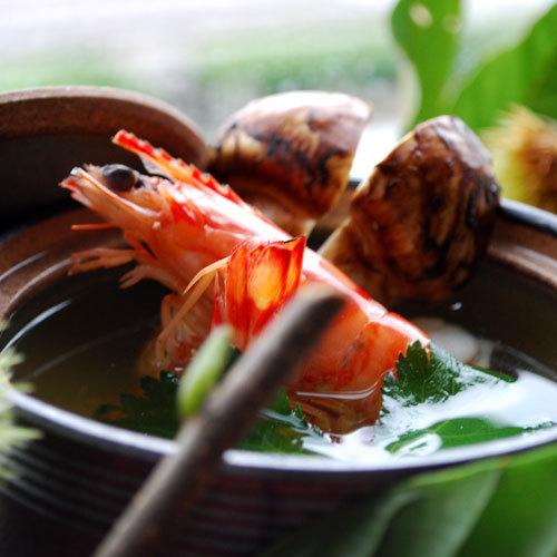 【秋得☆選べる夕食】海側&お抹茶&お菓子付