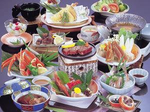 お食事処「えん」☆牛ミニステーキ付お料理グレードUP【なか能登コース】