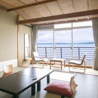 海の見える部屋(限定予約)正面or斜めから海の景色をどうぞ♪