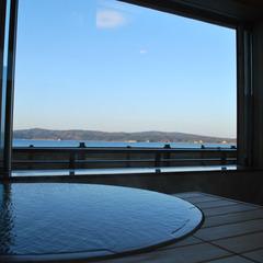 七尾湾を一望の温泉が付いたこだわりの和洋室☆新しいリラクゼーションルームで過ごす特別な休日♪