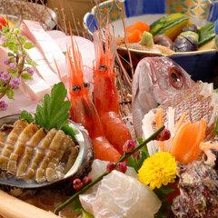 料理で感動!季節の味覚で旬満喫☆きときと海鮮丸<能登、金沢、加賀の食を満喫♪嬉しいミニ舟盛り付>