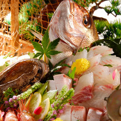 ◆【2016年当館人気】満足度部門◆大迫力!海の幸満載♪舟盛付会席〜海の見える部屋☆お部屋食【冬得】