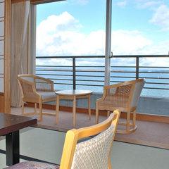 「白鷺亭」和室10畳☆海の見える部屋