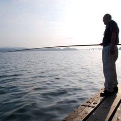 【早期割14】秋〜選べる夕食☆海の見える部屋<秋は中庭桟橋からイイダコ釣りが人気です>