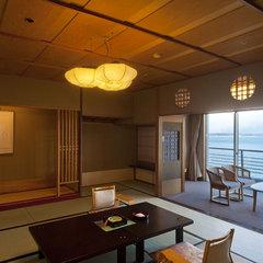 「白鷺亭」和室12.5畳+6畳 海側 【禁煙ルーム】