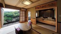 《花菖蒲》伊豆石温泉露天風呂付2間続きの和室