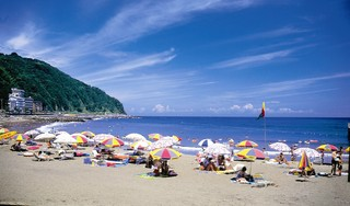 ◆2020夏だ!海だ!海水浴だ!温泉だ!夏休み早期予約で●●●●円もお得!◆海一望露天付部屋&部屋食