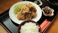 ◆マンガ喫茶併設のホテル♪夜はボリュームたっぷりの定食を!【夕朝食付】