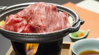 【ふくしまプライド。・レイトチェックアウト】福島牛の焼きしゃぶプラン