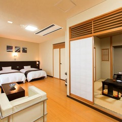 【別邸楓】和洋室/和室+ツインベッドルーム