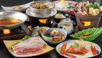 【秋田の食】田沢湖産虹の豚を甘酒でしゃぶしゃぶ!健康ポークと美肌の湯でゆったりグルメプラン
