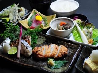板前自慢の夕食付き選べる和食御膳プラン